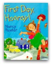 First Day Hooray Book Cover and Creative Book Report Projects