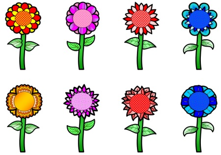 Spring Theme Bulletin Board Display for Sticker Charts