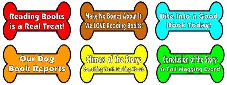 dog book report project bones