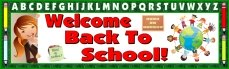 Free Welcome Back To School Banner