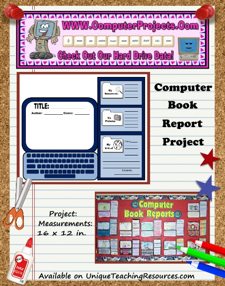 Fun Book Report Project Ideas - Computer Templates