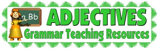 Adjectives, Grammar, and Parts of Speech Lesson Plans