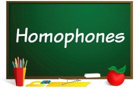 Fun Homophones Powerpoint Lessons