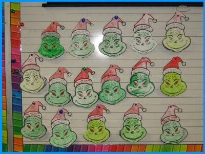 How the Grinch Stole Christmas Classroom Bulletin Board Display