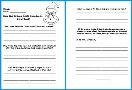 Christmas Writing Activities For 5th Graders