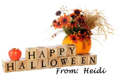 Happy Halloween From Heidi and Unique Teaching Resources
