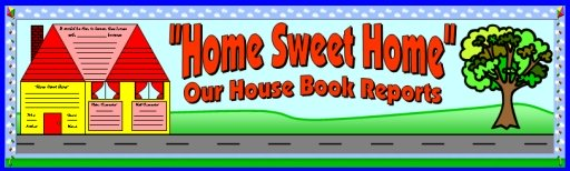 House Book Reports and Projects Bulletin Board Display Banner Examples