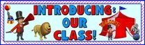 Introducing Our Class Back to School Bulletin Board Display Banner