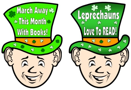 Reading Bulletin Board Display for March and St. Patrick's Day