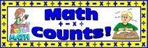 Free Math Counts Bulletin Board Banner