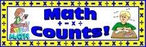 Free Math Counts Bulletin Board Banner