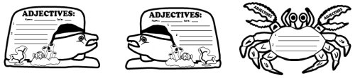 Adjectives Elementary Students Worksheets and Lesson Activities