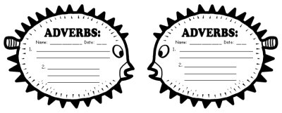 Adverbs Elementary Students Worksheets and Lesson Activities