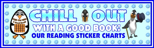 Penguin Sticker Chart Bulletin Board Display Banner