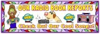 Radio Book Report Projects Bulletin Board Display Banner