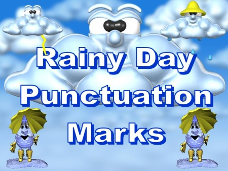 Spring Punctuation Power Point Lesson Plan Period, Question Mark, Exlcamation Mark