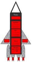 Rocket Book Report Project Templates