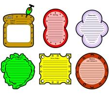 Sandwich book report project templates printable worksheets and sandwich book report project maxwellsz