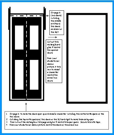 School Bus Door Opening Templates