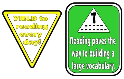 Reading Bulletin Board Display School Bus