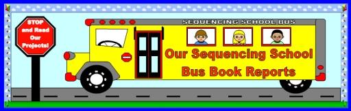 School Bus Bulletin Board Display Banner