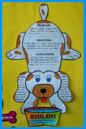Shiloh Bulletin Board and Classroom Display of Group Projects