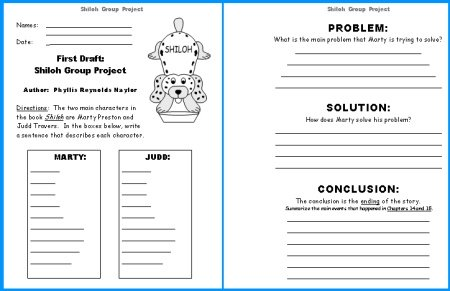 Shiloh First Draft Worksheet for Group Project