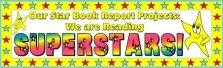 Star Book Report Bulletin Board Display