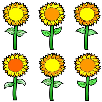 Sunflower Book Report Projects: templates, worksheets ...