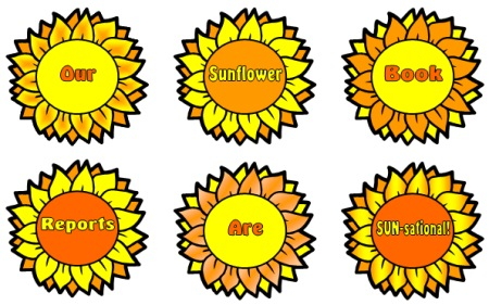 Sunflower Bulletin Board Display Examples and Ideas for Spring Themes