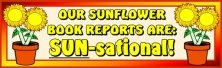 Sunflower Bulletin Board Display Banner