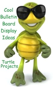 Bulletin Board Display Ideas and Examples For Turtle Projects