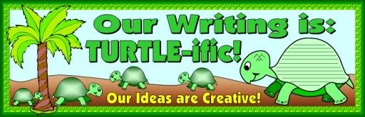 Spring Turtle Creative Writing Bulletin Board Display Ideas