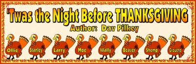 Twas the Night Before Thanksgiving by Dav Pilkey Lesson Plans and Teaching Resources Banner