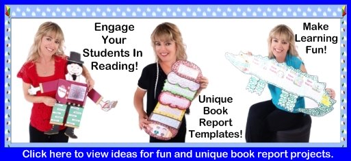 Fun Book Report Project Ideas For Elementary School Teachers and Students