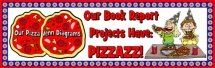Venn Diagram Pizza Book Report Projects Bulletin Board Display Banner