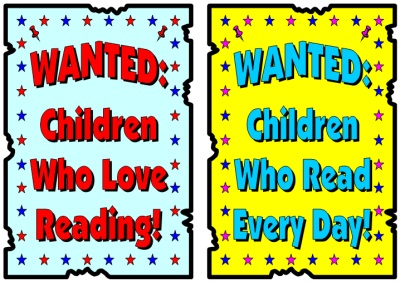 Wanted Poster Reading Bulletin Board Display Examples