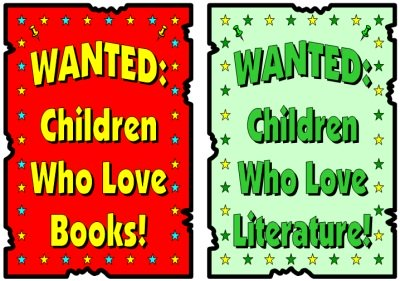Wanted Poster Reading Bulletin Board Display Ideas