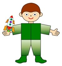 Main Character Book Report Project Boy With Rocket