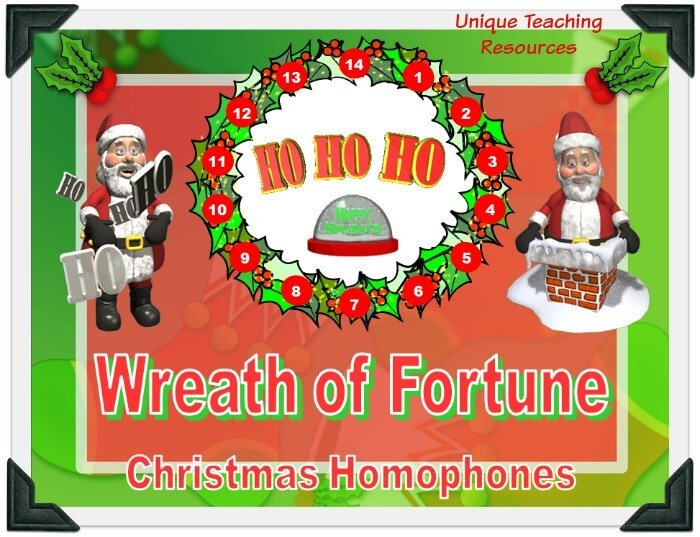 This is a fun Christmas powerpoint presentation that reviews homophones in an engaging game-like format.
