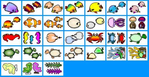 Fish Ocean Bulletin Board Display