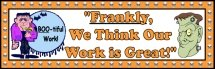 Free Halloween Frankenstein Bulletin Board Display Banner