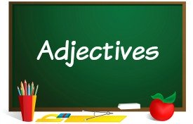 adjectives powerpoint lesson