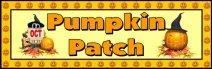 Free Halloween Pumpkin Patch Bulletin Board Display Banner