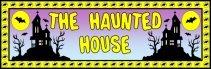 Halloween Haunted House Bulletin Board Display Banner
