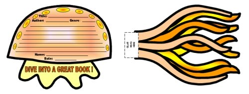Jelly Fish Book Report Projects and Templates