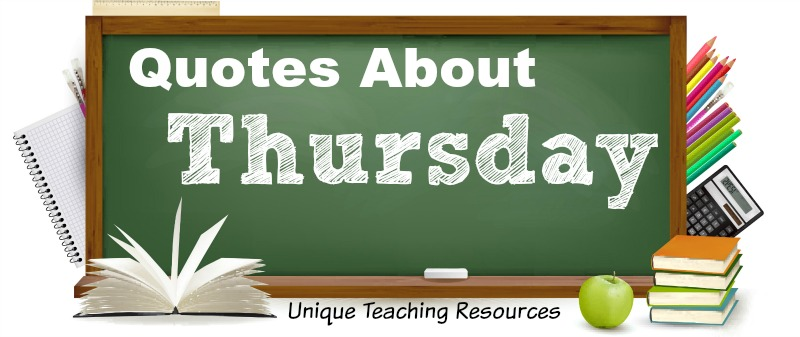 Funny Sayings, Graphics, and Quotes About Thursday