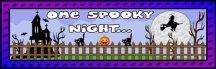 Free One Spooky Halloween Night Bulletin Board Display Banner