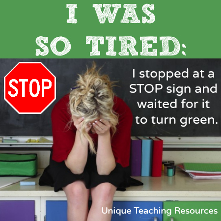 Tired Teacher Funny Meme