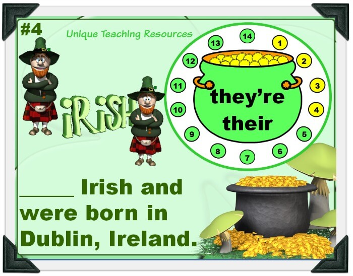 St. Patrick's Day Pot of Gold Powerpoint
